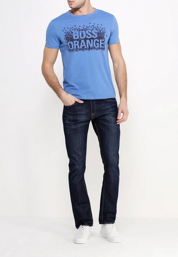 Футболка с надписями Boss Orange 50303433: изображение 2