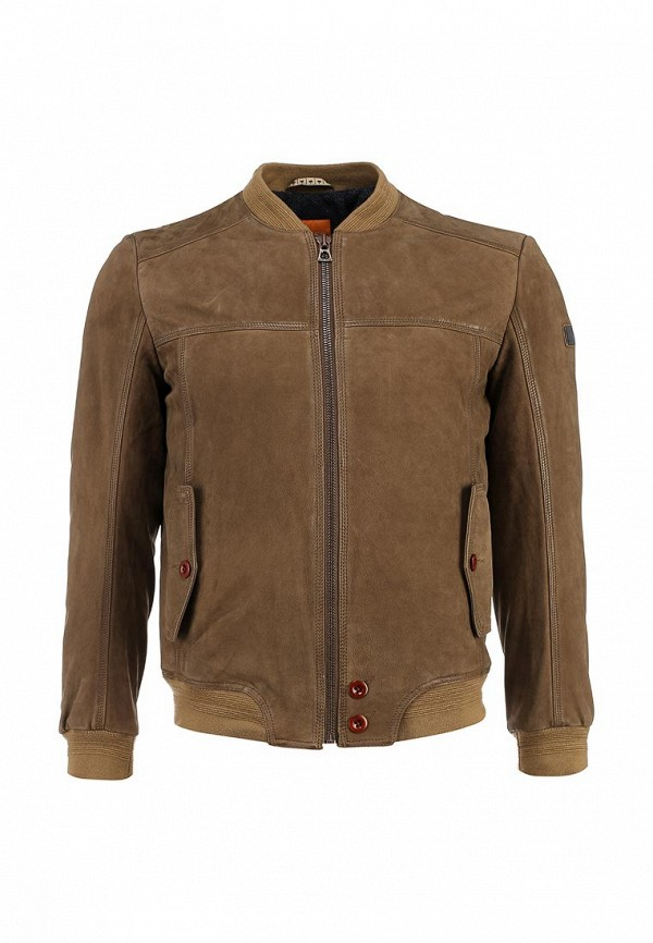 Кожаная куртка Boss Orange 50306032