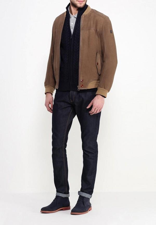 Кожаная куртка Boss Orange 50306032: изображение 2