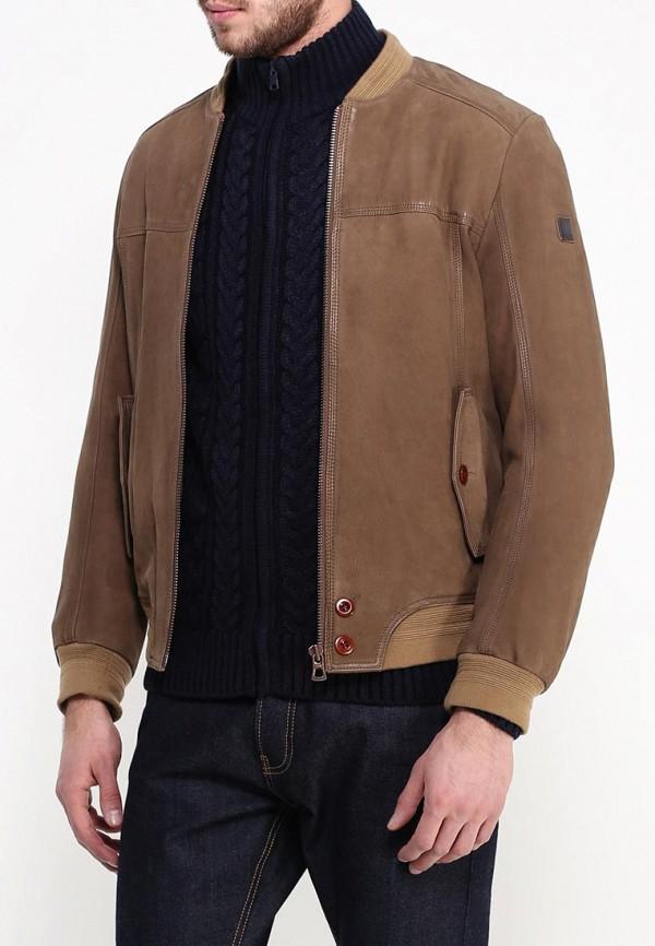 Кожаная куртка Boss Orange 50306032: изображение 3
