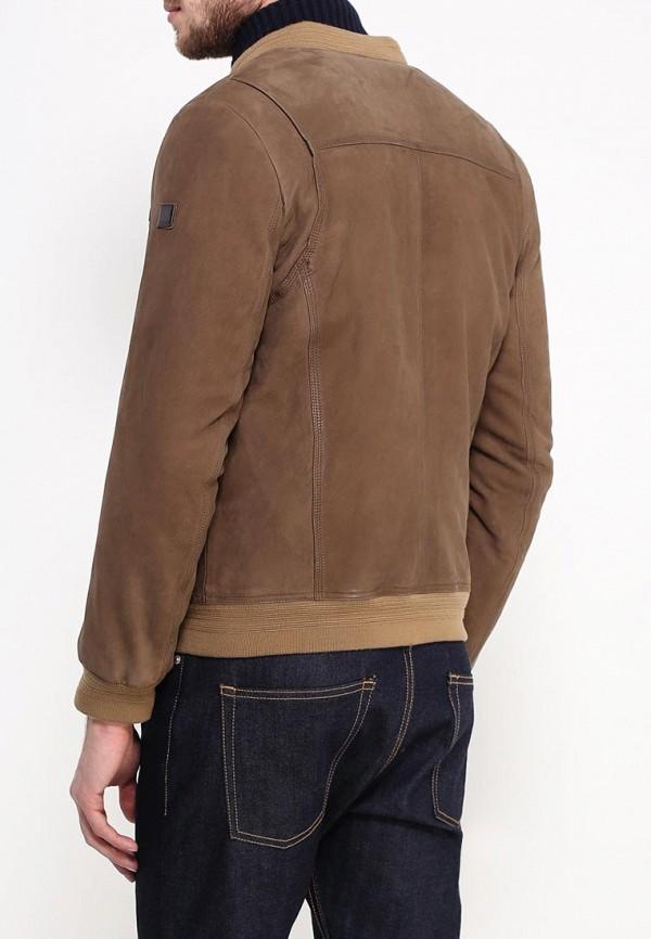 Кожаная куртка Boss Orange 50306032: изображение 4