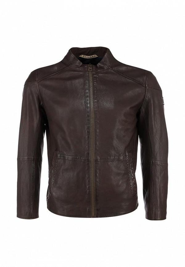 Кожаная куртка Boss Orange 50306009: изображение 1