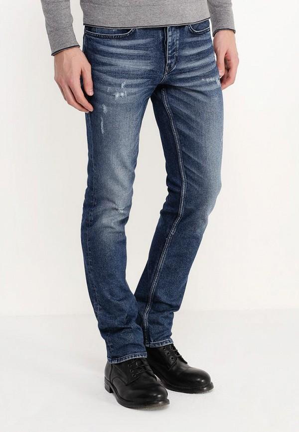Зауженные джинсы Boss Orange 50305012: изображение 3
