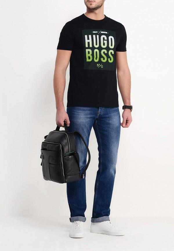 Мужские прямые джинсы Boss Orange 50302781: изображение 2