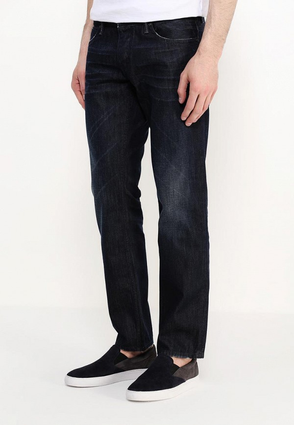Мужские прямые джинсы Boss Orange 50253915: изображение 3