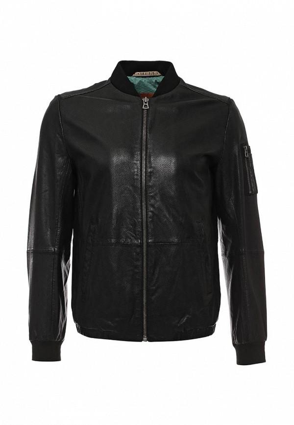 Кожаная куртка Boss Orange 50309689: изображение 1