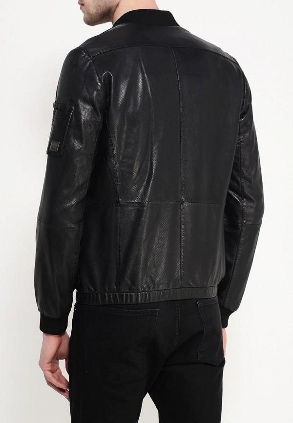 Кожаная куртка Boss Orange 50309689: изображение 5