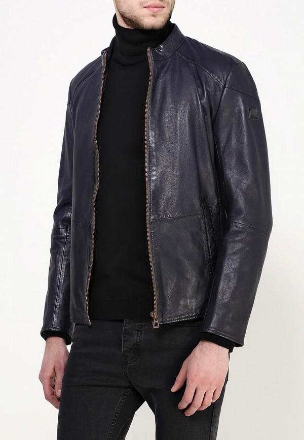 Кожаная куртка Boss Orange 50306009: изображение 3