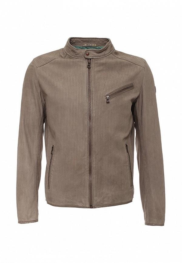 Кожаная куртка Boss Orange 50309731: изображение 2