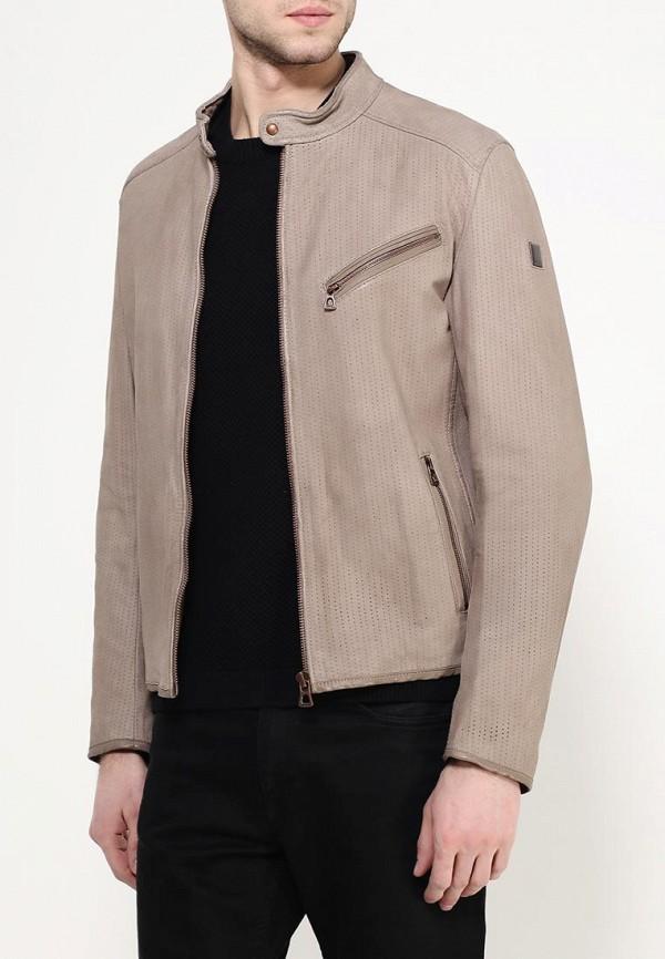 Кожаная куртка Boss Orange 50309731: изображение 4