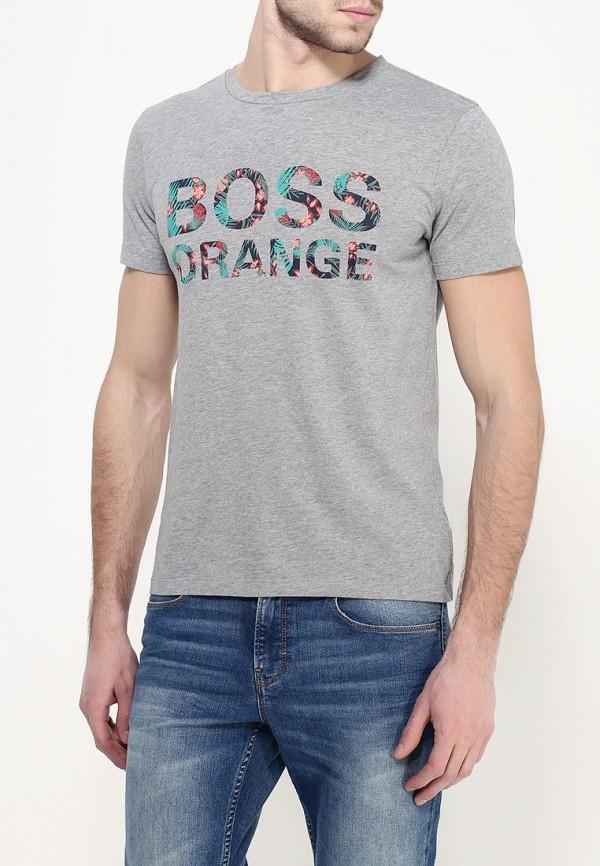 Футболка с надписями Boss Orange 50309710: изображение 3