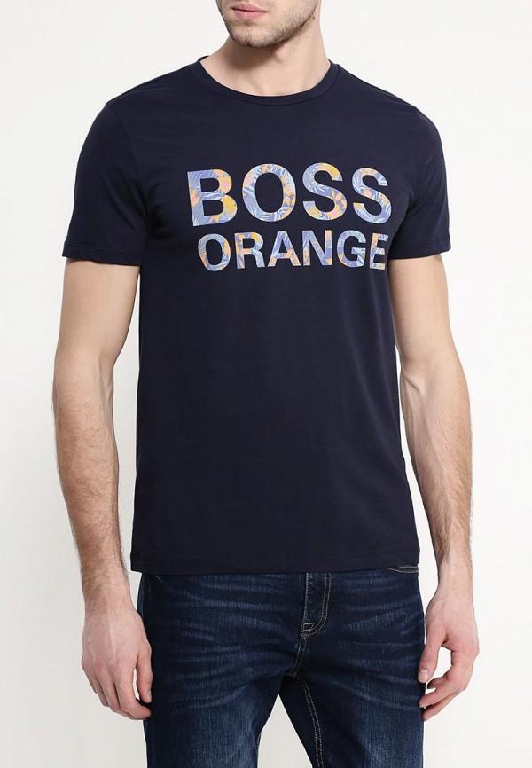Футболка с надписями Boss Orange 50309710: изображение 4