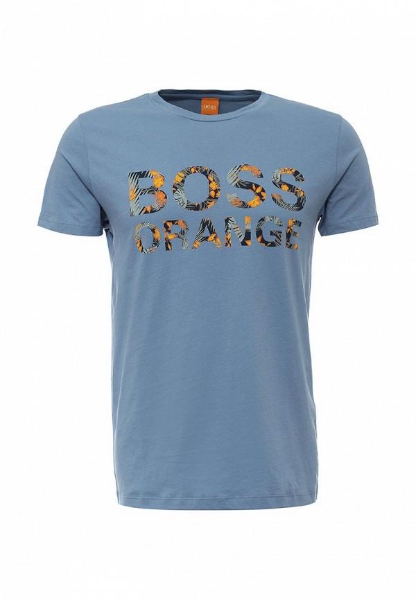 Футболка с надписями Boss Orange 50309710: изображение 1