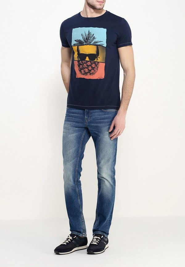 Зауженные джинсы Boss Orange 50302779: изображение 2