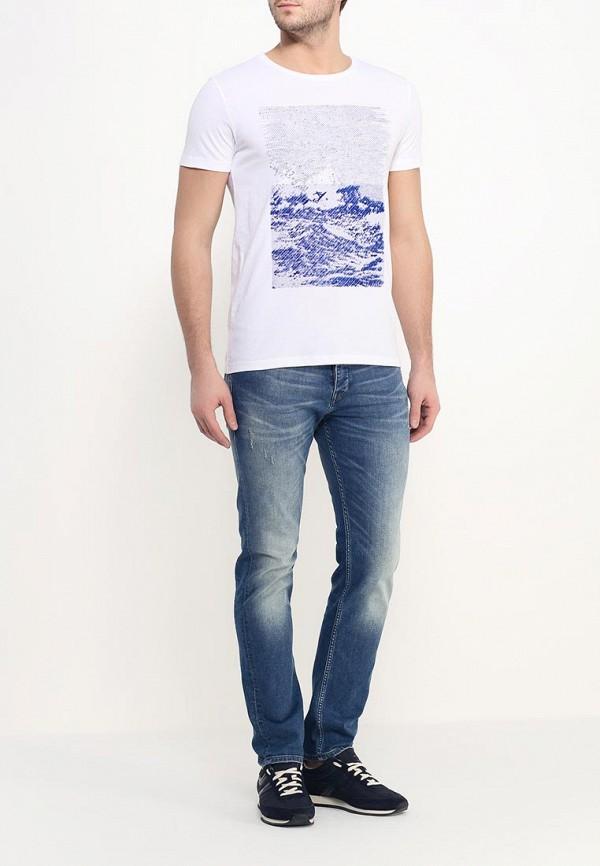 Мужские прямые джинсы Boss Orange 50309908: изображение 2