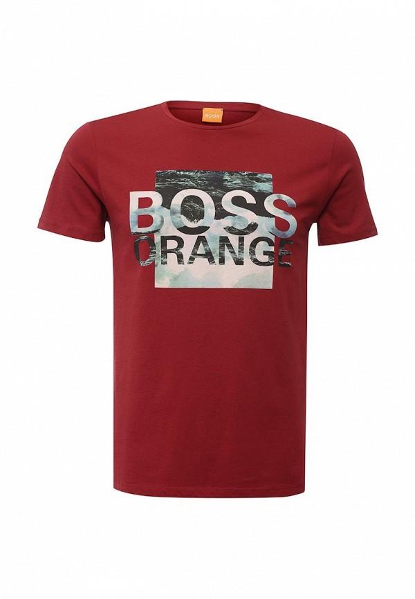 Футболка с надписями Boss Orange 50315483: изображение 1