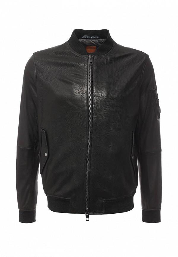 Кожаная куртка Boss Orange 50315451: изображение 1