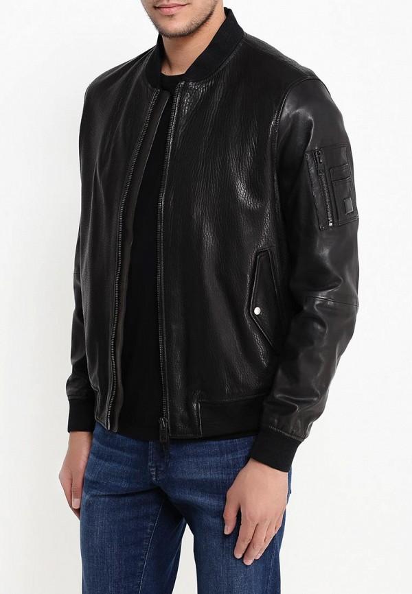 Кожаная куртка Boss Orange 50315451: изображение 4