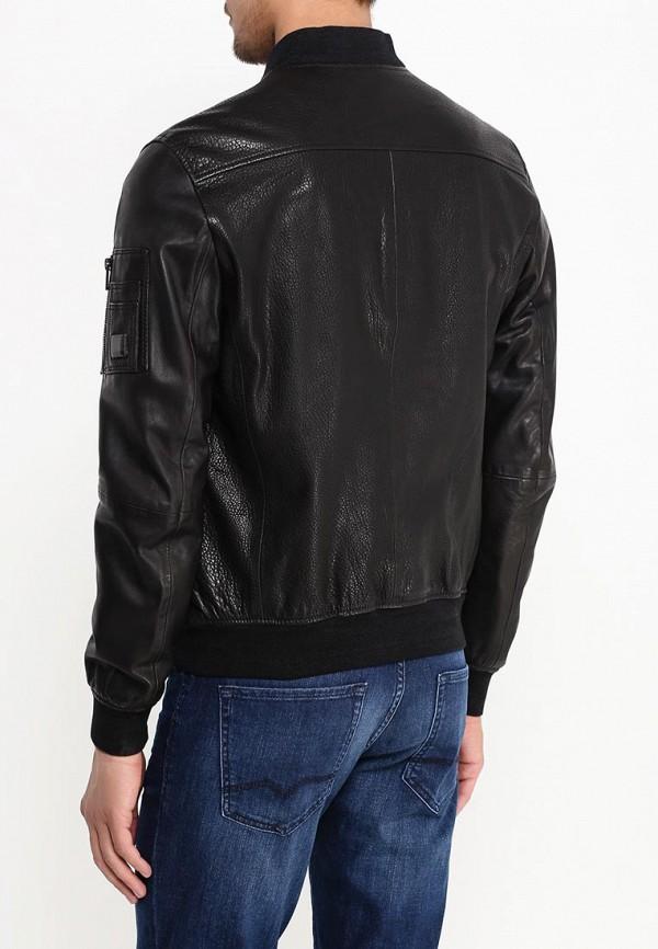 Кожаная куртка Boss Orange 50315451: изображение 5