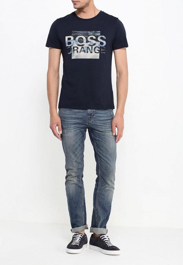 Зауженные джинсы Boss Orange 50313936: изображение 2