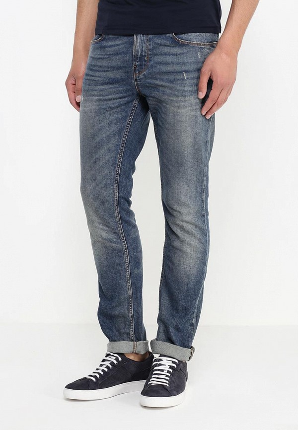 Зауженные джинсы Boss Orange 50313936: изображение 3