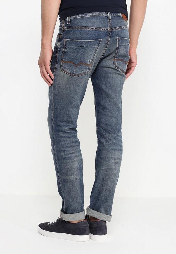 Зауженные джинсы Boss Orange 50313936: изображение 4