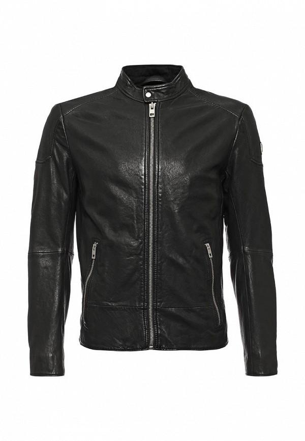 Кожаная куртка Boss Orange 50320630