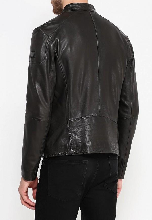 Кожаная куртка Boss Orange 50320630: изображение 4