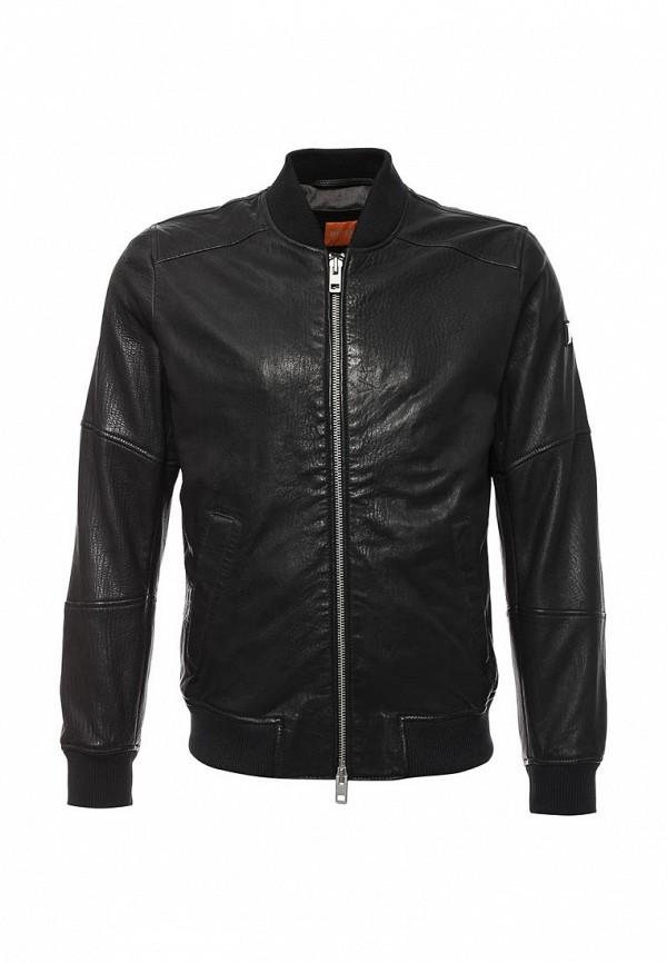 Кожаная куртка Boss Orange 50320606