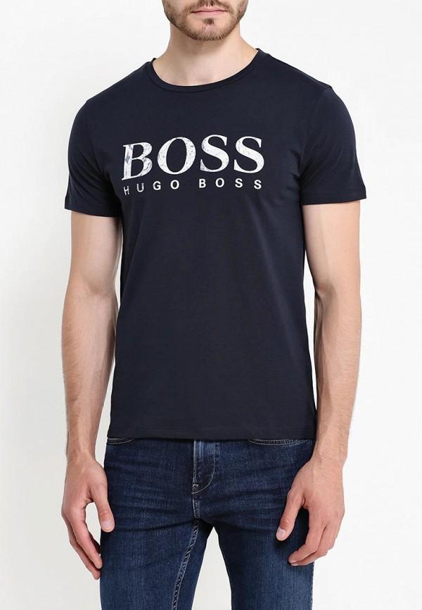 Футболка с надписями Boss Orange 50321751: изображение 3