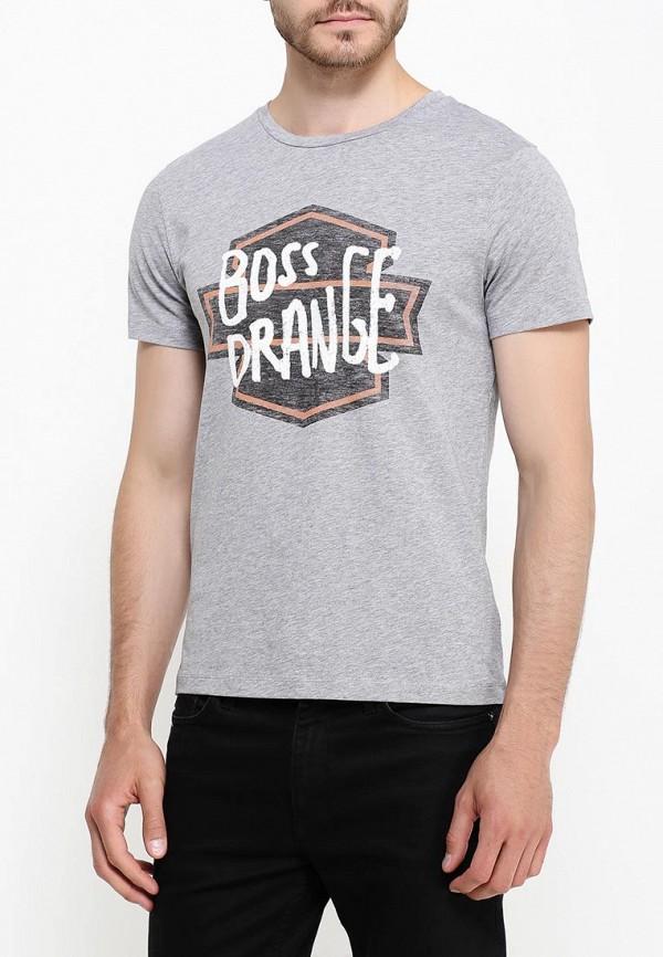 Футболка с надписями Boss Orange 50321749: изображение 4