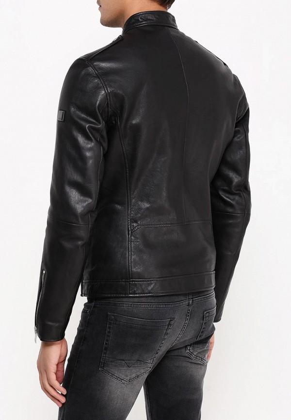 Кожаная куртка Boss Orange 50320623: изображение 5
