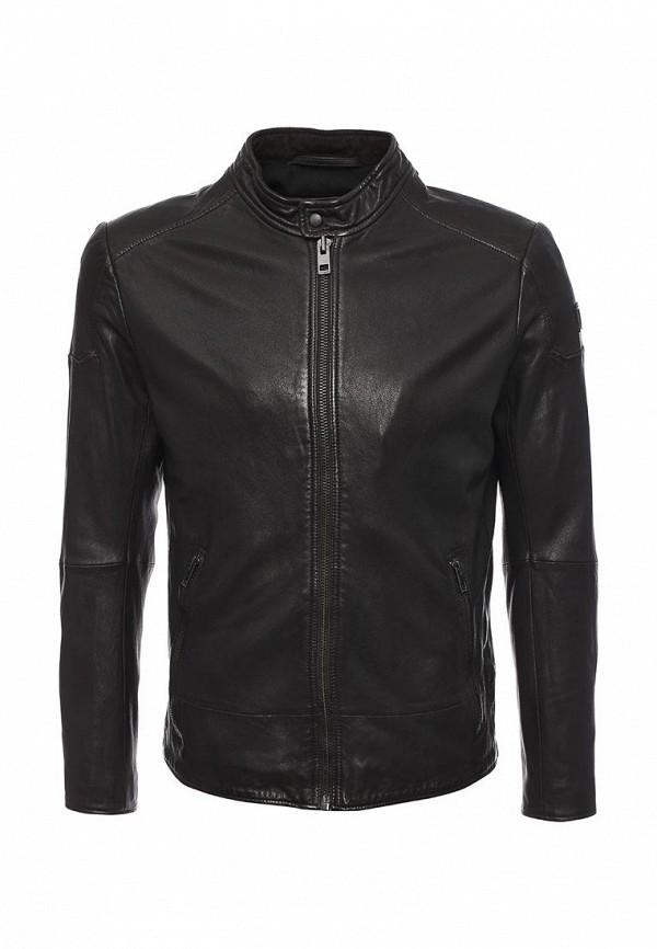 Кожаная куртка Boss Orange 50320630: изображение 5