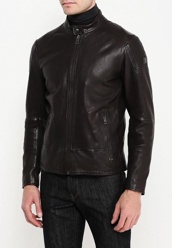 Кожаная куртка Boss Orange 50320630: изображение 8