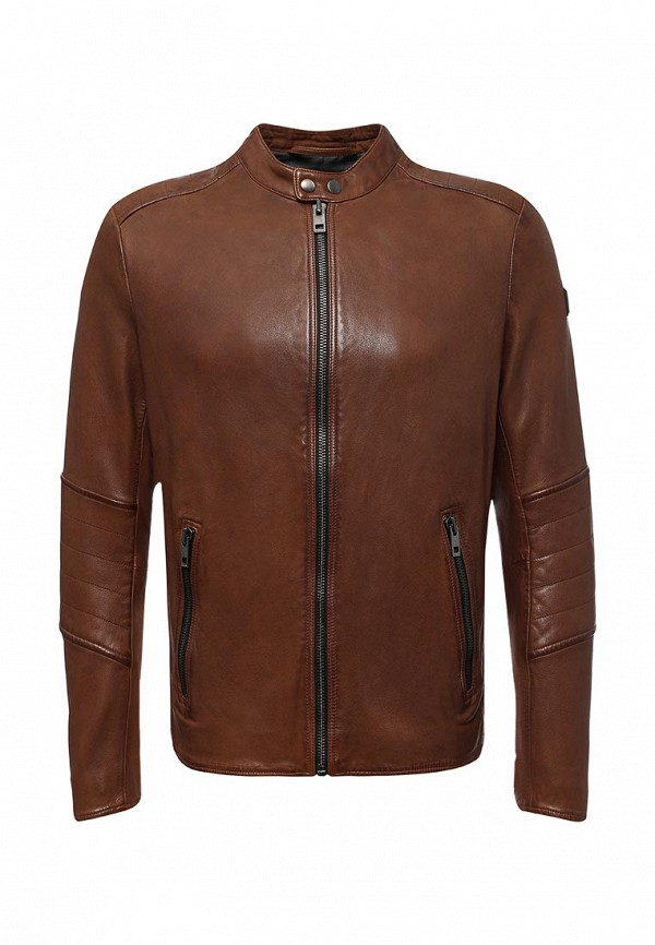 Куртка кожаная Boss Orange Boss Orange BO456EMTQE51