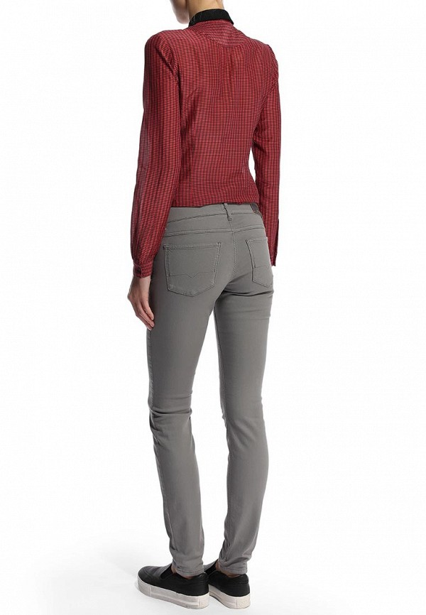 Зауженные джинсы Boss Orange 50271814: изображение 7