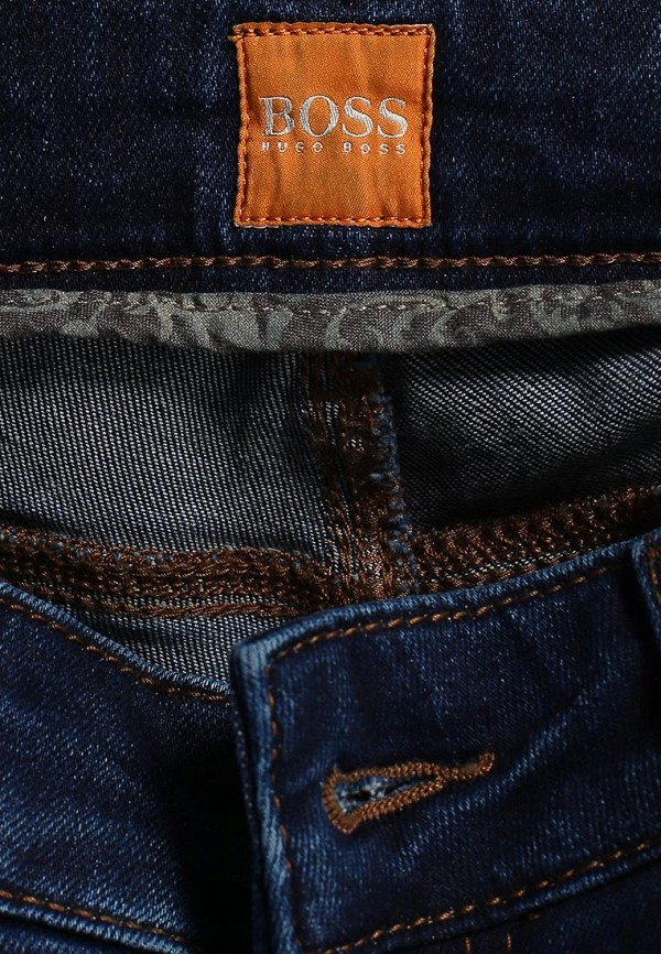 Зауженные джинсы Boss Orange 50271775: изображение 7