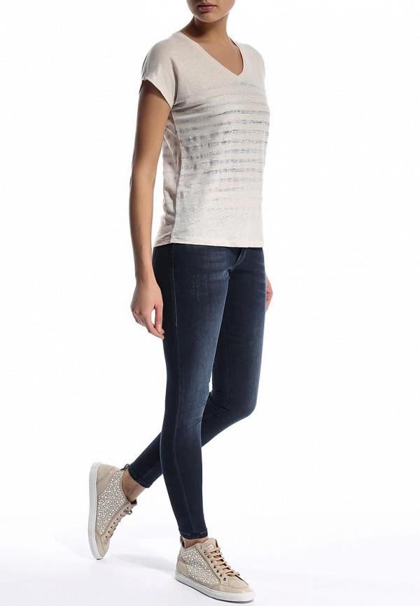 Зауженные джинсы Boss Orange 50277643: изображение 3