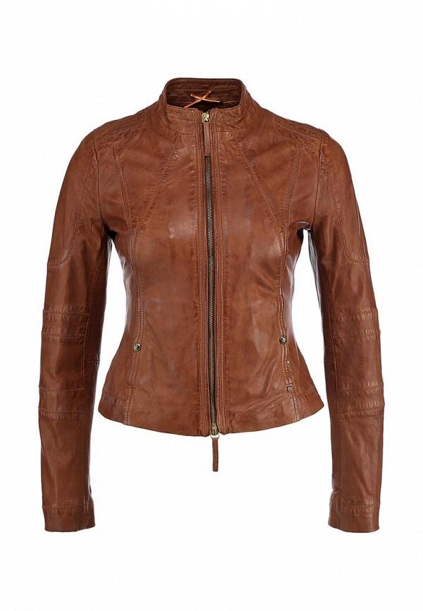 Кожаная куртка Boss Orange 50277380: изображение 1