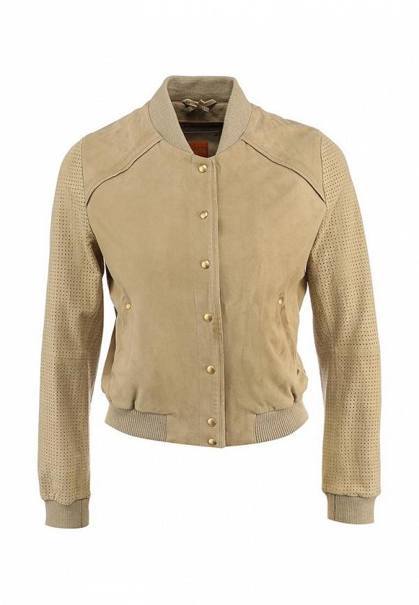 Кожаная куртка Boss Orange 50283861: изображение 1