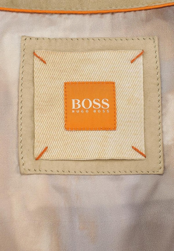Кожаная куртка Boss Orange 50283861: изображение 2