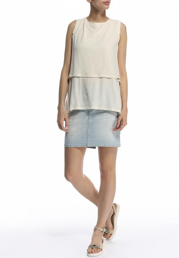 Узкая юбка Boss Orange 50285342: изображение 4