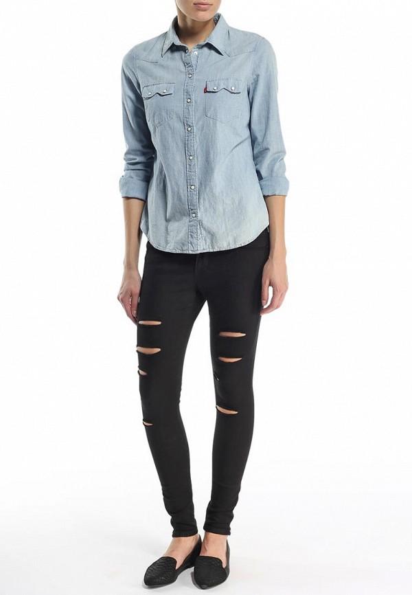 Зауженные джинсы Boss Orange 50284946: изображение 5