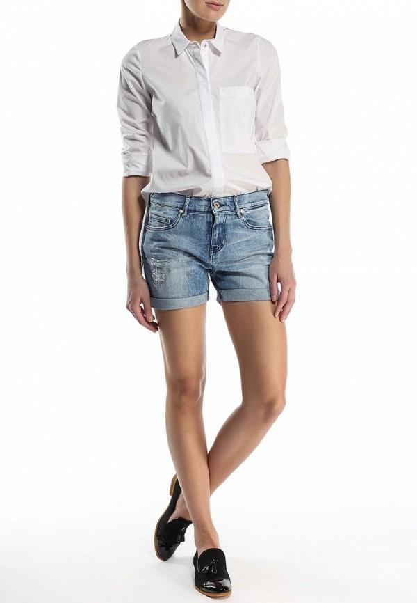 Женские джинсовые шорты Boss Orange 50283466: изображение 4