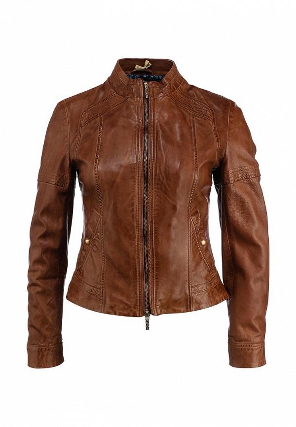 Кожаная куртка Boss Orange 50291983: изображение 1
