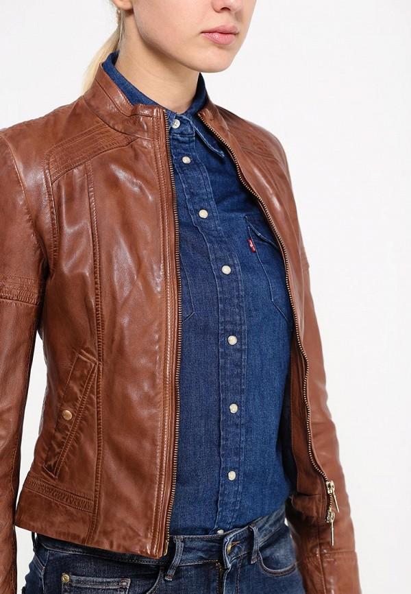 Кожаная куртка Boss Orange 50291983: изображение 2