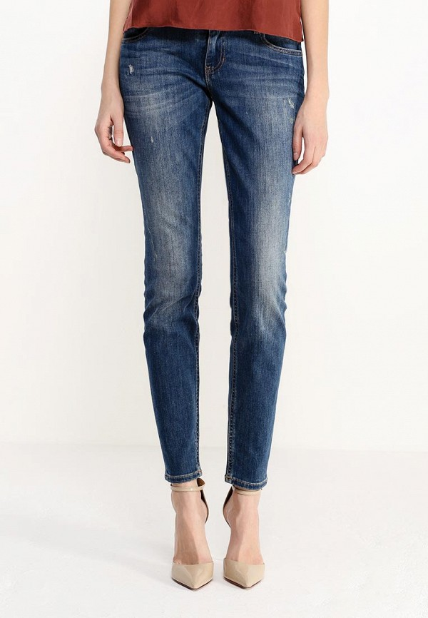 Зауженные джинсы Boss Orange 50304440: изображение 3