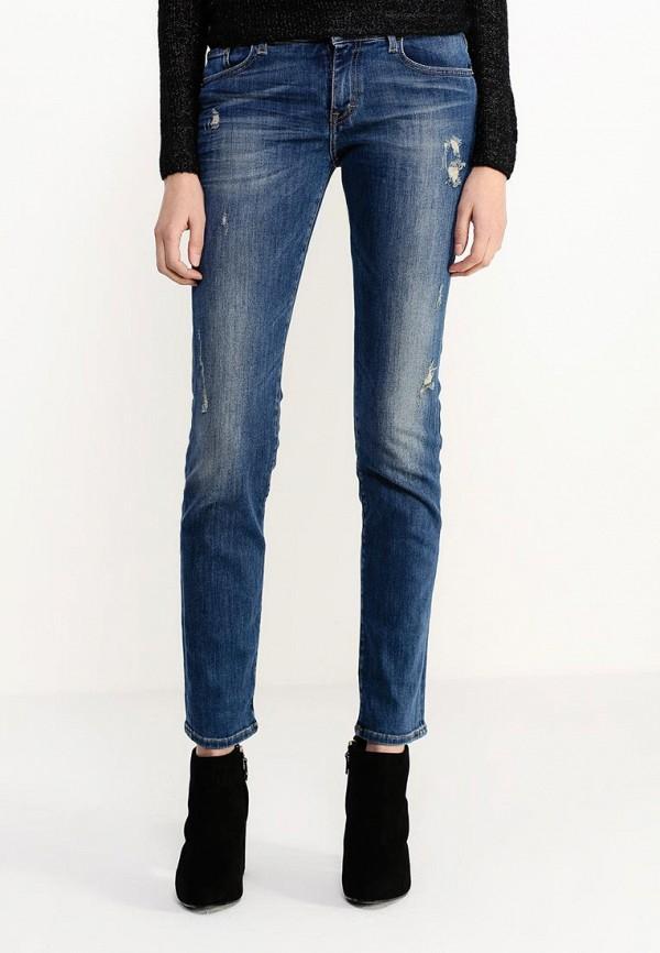 Зауженные джинсы Boss Orange 50304471: изображение 3