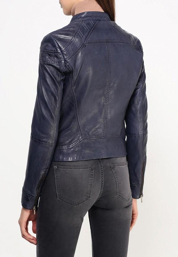 Кожаная куртка Boss Orange 50304506: изображение 5