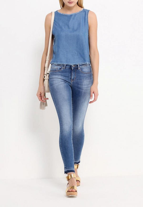 Зауженные джинсы Boss Orange 50309824: изображение 2